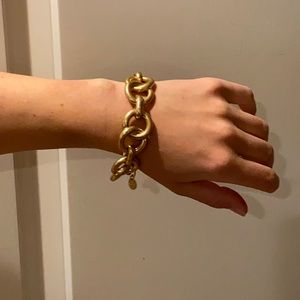 Chunky Stella and Dot Gold Link Bracelet